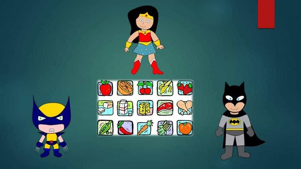 הרצאה על אכילה בריאה של ילדים